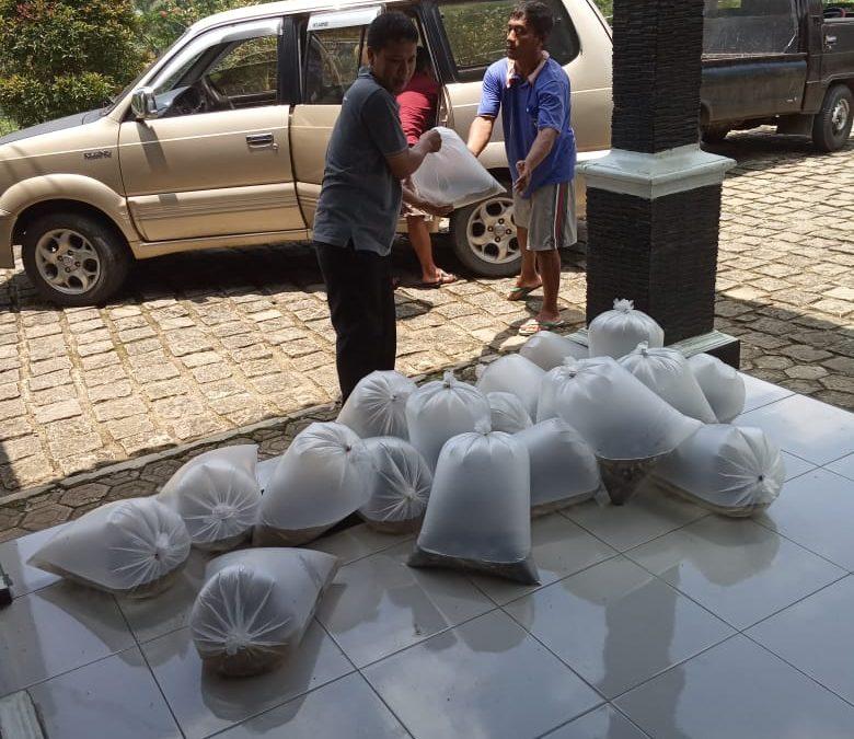 7.500 Ekor Bibit Ikan Dilepaskan Di Kali Manggis